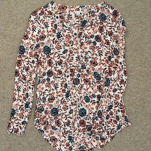 Nordstrom Hinge floral blouse
